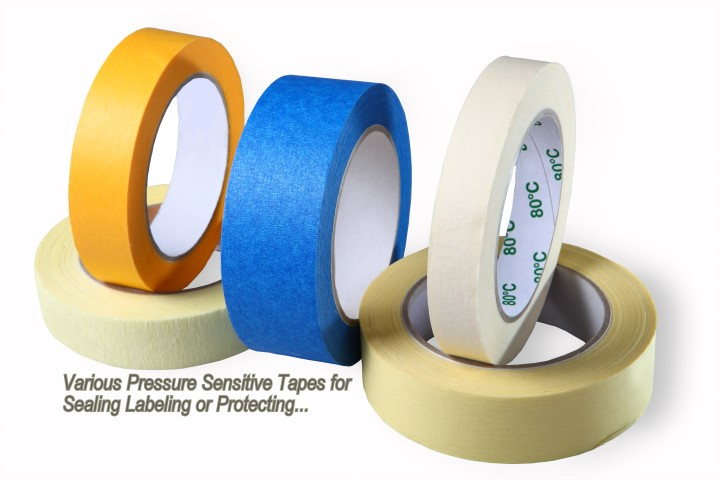 Pressure sensitive tapes